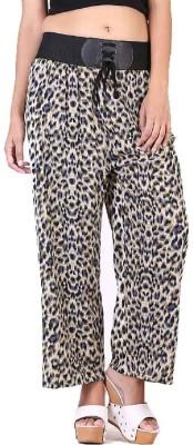 Sierra Regular Fit Women's Grey, Black Trousers