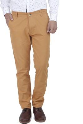 Yuvi Solid Men's Red Chino Shorts