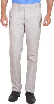 Elfried Slim Fit Men's Grey Trousers