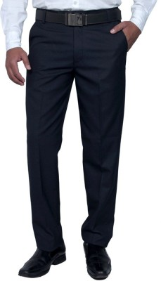 Febulous Regular Fit Men's Blue Trousers