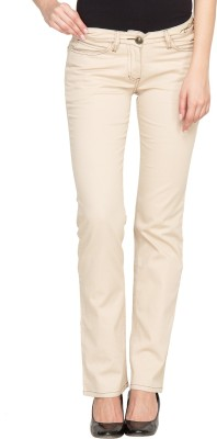 Species Regular Fit Women's Beige Trousers