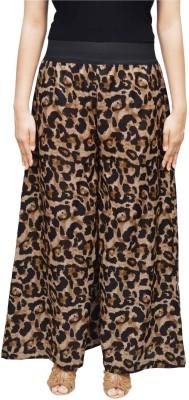 Saree Sparkle Regular Fit Women's Brown, Black Trousers