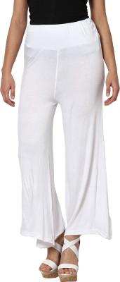 Sakhi Sang Regular Fit Womens White Trousers