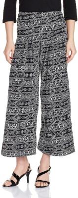 Atayant Regular Fit Women's Black, Grey Trousers