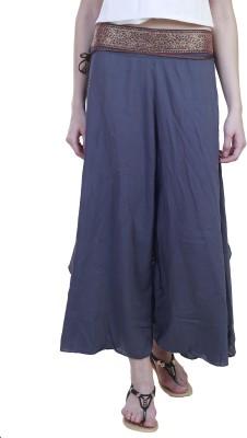 Showoff Slim Fit Women's Grey Trousers