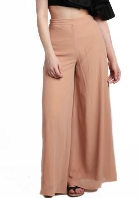 Divaat Regular Fit Women's Beige Trousers