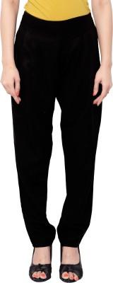 SFDS Regular Fit Women's Brown Trousers