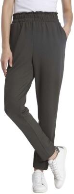 Vero Moda Regular Fit Women's Grey Trousers