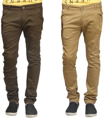 Trendy Trotters Regular Fit Men's Dark Green, Dark Green Trousers