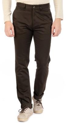 Sting Regular Fit Men's Brown Trousers