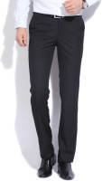 Raymond Regular Fit Mens Black Trousers