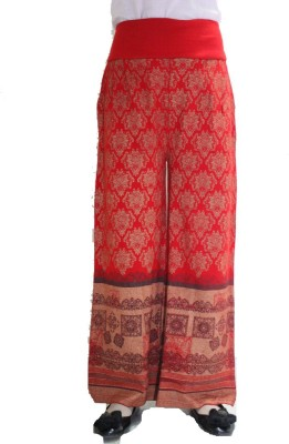 Matelco Regular Fit Women's Red Trousers