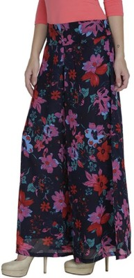pinksisly Regular Fit Women's Red, Blue Trousers