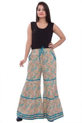 A&K Regular Fit Women's Multicolor Trousers