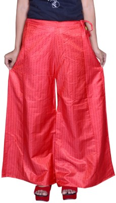 Pezzava Regular Fit Women's Red, White Trousers