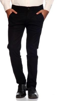 AVE Regular Fit Men's Black Trousers