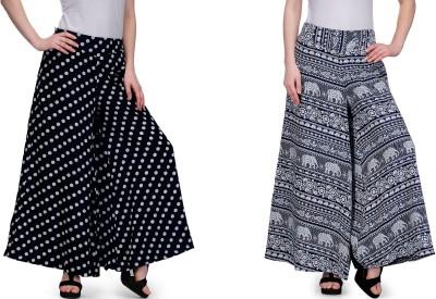 Samayra Regular Fit Women's Multicolor Trousers