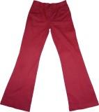Eves Pret A Porter Slim Fit Girls Red Tr...