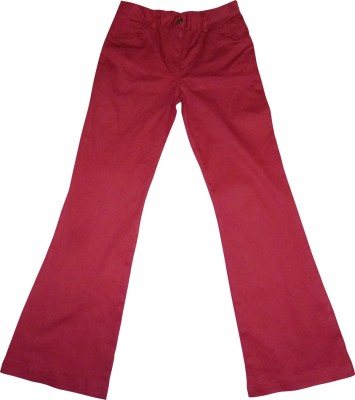Eves Pret A Porter Skinny Fit Girl's Red Trousers