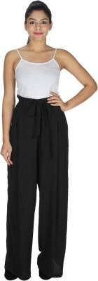 Dope Regular Fit Women's Black Trousers