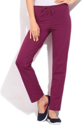 Jockey Women's Maroon Trousers