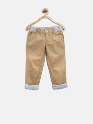 Yk Regular Fit Boy's Brown Trousers