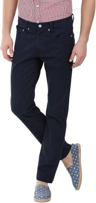 Zobello Regular Fit Men's Dark Blue Trousers