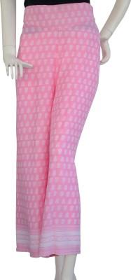 Jupi Regular Fit Women,s Pink, White Trousers