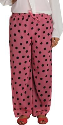 Shahfali Regular Fit Women's Purple Trousers