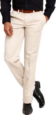 Zenrio Regular Fit Men's Beige Trousers