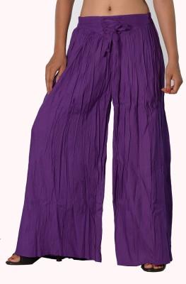 SBS Regular Fit Women's Purple Trousers
