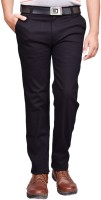 British Terminal Slim Fit Mens Black Trousers