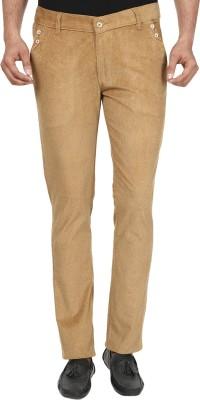 Own Voice Regular Fit Men's Beige Trousers