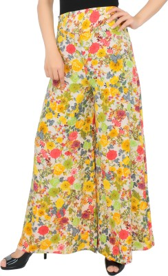 Rigoglioso Regular Fit Women's Multicolor Trousers