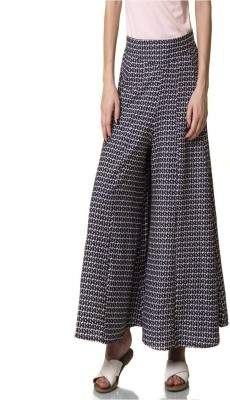 Rute Regular Fit Womens Blue Trousers
