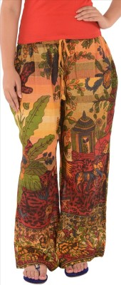 Skirts & Scarves Regular Fit Women's Multicolor Trousers