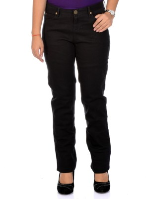 Instinct Slim Fit Women's Black Trousers