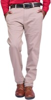 British Terminal Skinny Fit Mens Brown Trousers