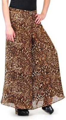 Shopping Queen Regular Fit Women's Yellow Trousers