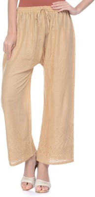 Aarushi Fashion Regular Fit Women's Beige Trousers