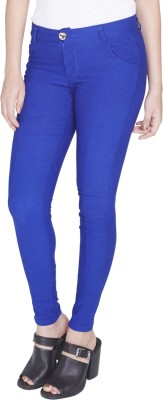 Globus Regular Fit Women's Blue Trousers