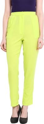 Ridress Regular Fit Women's Light Green Trousers