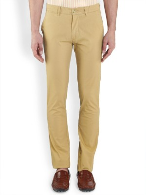 ColorPlus Regular Fit Men's Beige Trousers