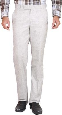 Elfried Slim Fit Men's Beige Trousers