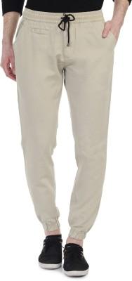 Blimey Slim Fit Men's Cream, Beige Trousers