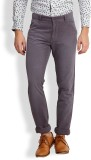 I-Voc Slim Fit Men's Grey Trousers