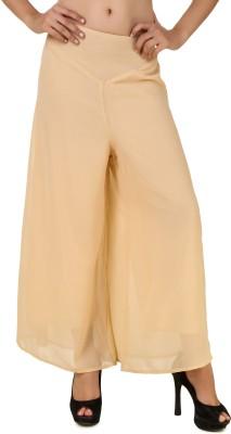 Ess Cee Regular Fit Women's Beige Trousers