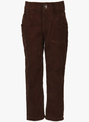 612 League Regular Fit Boy's Brown Trousers