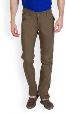 Bloos Jeans Slim Fit Men's Light Green Trousers