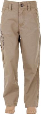 Ice Boys Slim Fit Boy's Beige Trousers